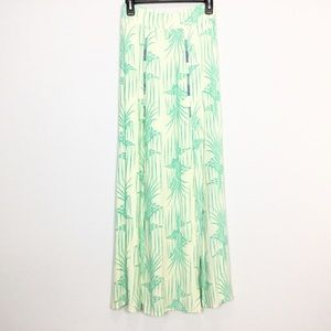 Tigerlily Double Slit Maxi Floral Skirt